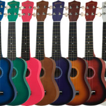 SANCHEZ COLOURED UKULELES - SU-10