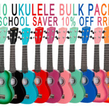 10 UKULELE SCHOOL PACK - SANCHEZ- SAVE 10% off RRP