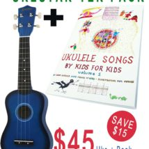 CHRISTMAS SALE Ukulele and Book Starter Pack
