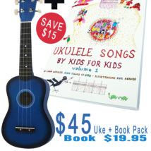 Ukulele and Book Pack