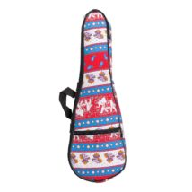 Sanchez Soprano Ukulele Padded Gig Bag (Elephants)